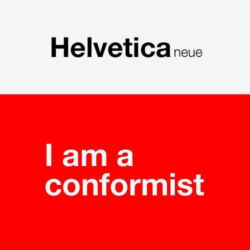 helvetica by Lars Willem Veldkampf.
