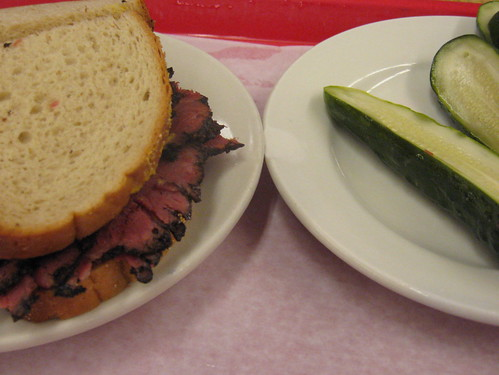 Pastrami at Katz's Deli, Lower East Side