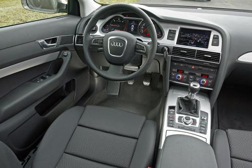 Audi A6 Interior. Audi A6 interior aluminum trim