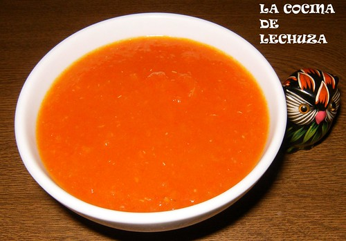 Salsa tomate cuenco