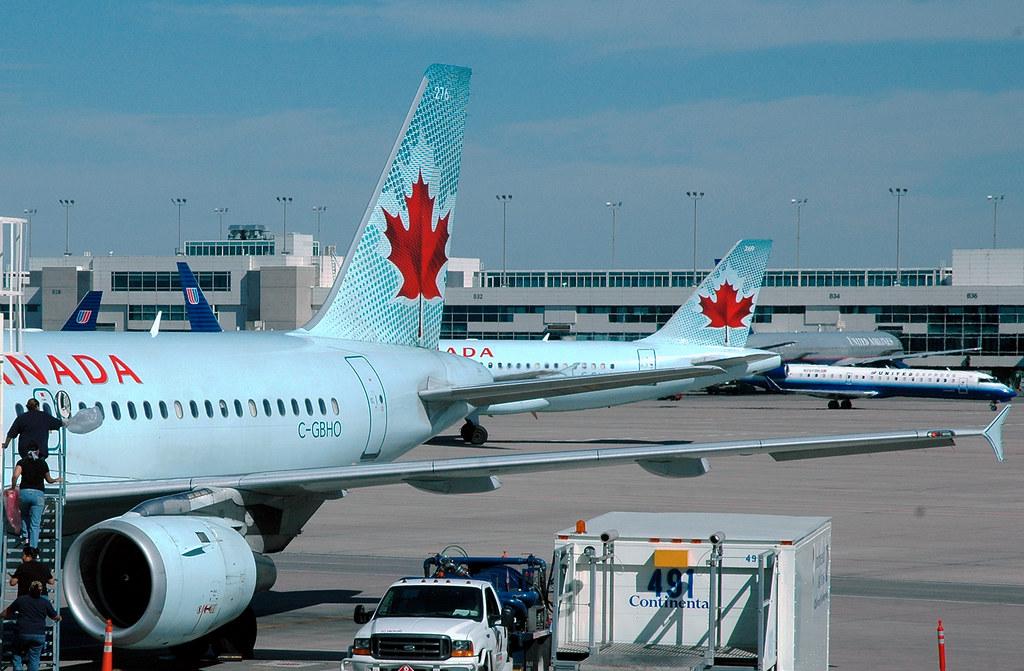 Air Canada Arrivals