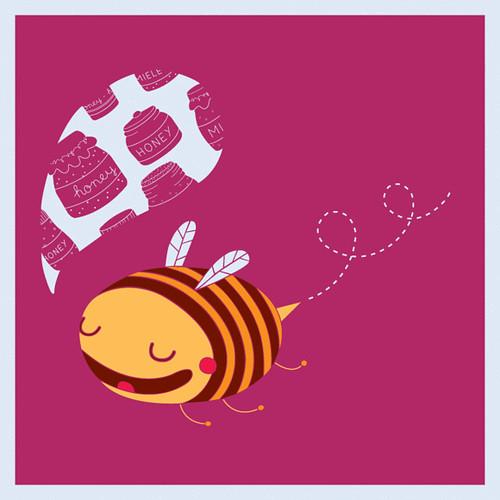 Organic Baby Clothes Honey Bee Design
