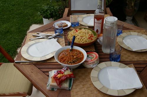 素瓊姐家花園05 - 假日的晚餐