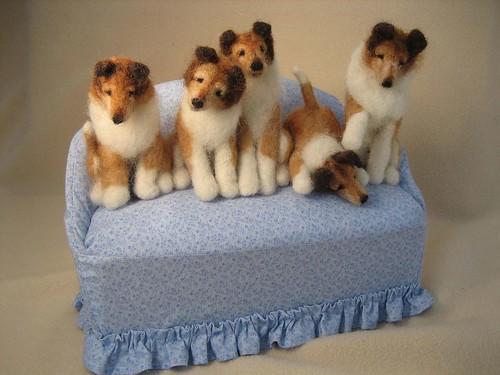 Lassie Dog Puppy dog-b...