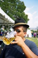German hat, German beer.