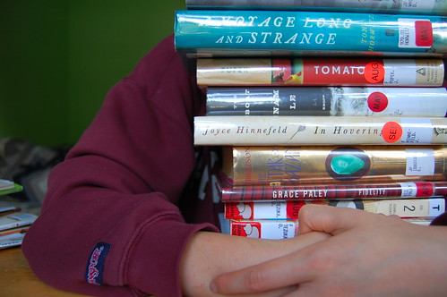 who thinks i have a book problem? (274/365)