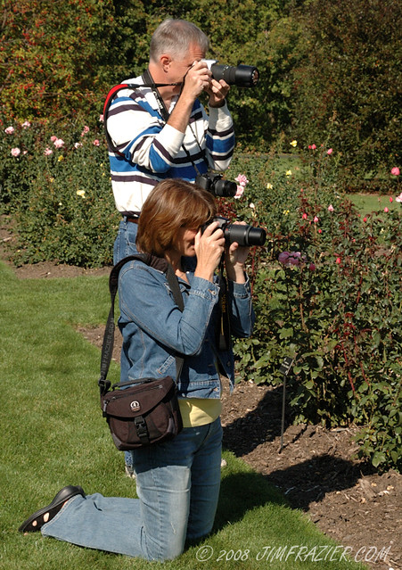 Flickrers in the Rose Garden