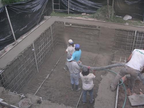 piscina de hormigon proyectado
