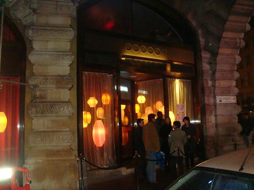 Vista exterior del restaurante