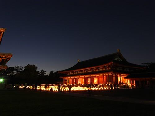 薬師寺(万燈会・夜)-09