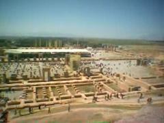 Vista general de Persepolis