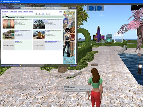 opensim-misearch