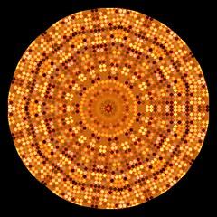 Tiled Autumn Kaleidoscope (Joana Rojas - still here) Tags: autumn colors manipulated patterns kaleidoscope tiles