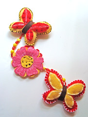primavera (Meybby's) Tags: artesanato feltro mbile