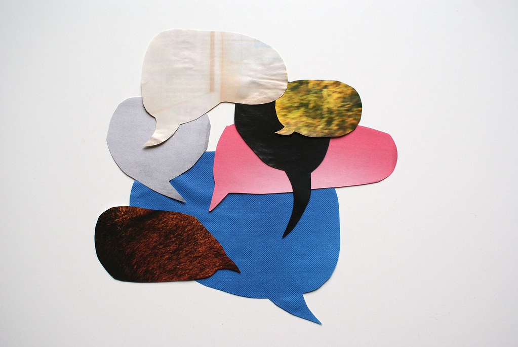 Graphic Conversation by Marc Wathieu, on Flickr