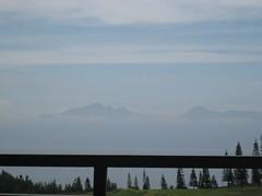 when i can see molokai's peaks (resurrection_lens) Tags: maui kapalua peaks molokai
