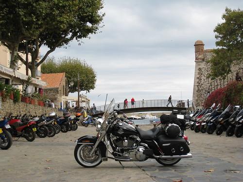 Après un déjeuner à Collioure