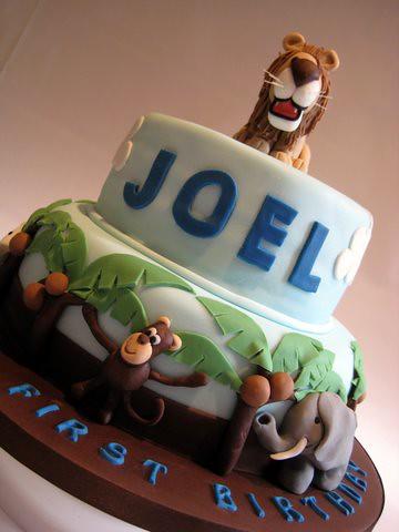 Joel's Jungle Cake