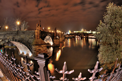 St Charles Bridge Night 1