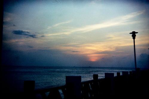 [淡水漁人碼頭] 落日