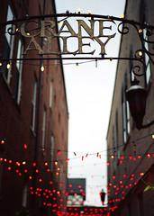 Crane Alley (antiapathy) Tags: new mamiya alley 645 crane scanner urbana epson v500