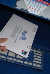 DO IT! (Life As Art) Tags: democracy obama voting finally ballot absentee nov08