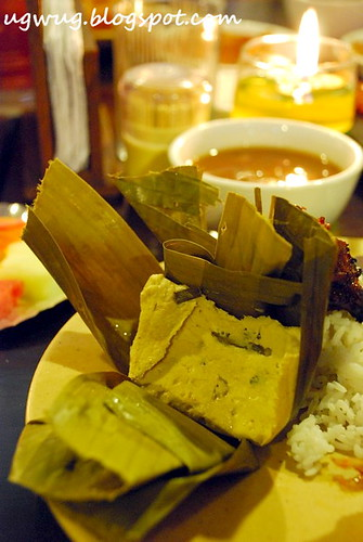 Banana Leaf Tofu