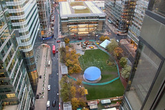 Canary Wharf Ice Rink - coming full circle...