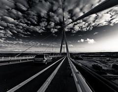 On the road (Topyti) Tags: bridge geotagged olympus ponte normandy viaggi ontheroad zuiko normandia pontdenormandie 714mm michelvirlogeux pontedinormandia geo:lat=49431408 geo:lon=02738 bertrandderoubaix