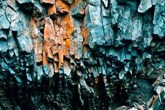 Crushing (wicks_photo) Tags: blue orange color vertical stone rocks spot line mount rainier crush