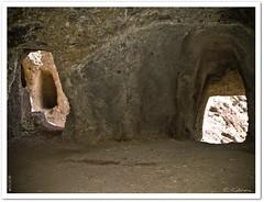 Un guio (Carmen Cabrera (tSfruit)) Tags: grancanaria olympus caves e300 kdd canaryislands zuiko cuevas guio telde zd 1445mm flickermeeting cuatropuertas montaabermeja 15gcfm