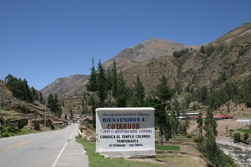 Welcome to Cotaruse, Peru.