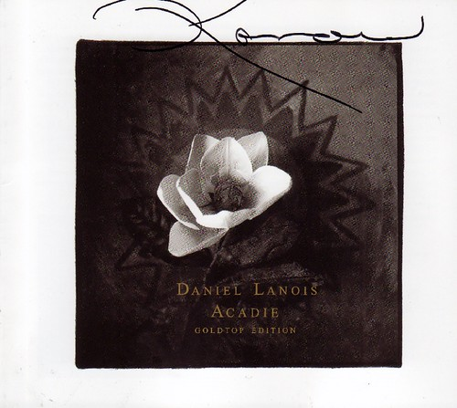 Signed CD by Daniel Lanois