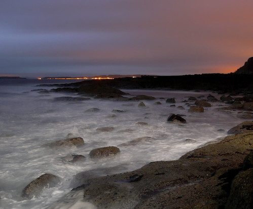 Cumbrae lights at sunrise 14Nov08