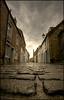An alley for Sweeney Todd (Manlio Castagna) Tags: sky scotland pavement wide sigma standrews 1020mm hdr manlio timburton burton castagna pavé photomatix manliocastagna manliok