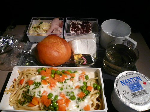 Singapore Airline-Light Lunch