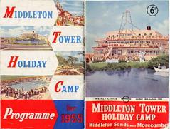 Middleton Tower Brochure 1955 (trainsandstuff) Tags: 1955 vintage map archival brochure holidaycamp kamiya middletontower