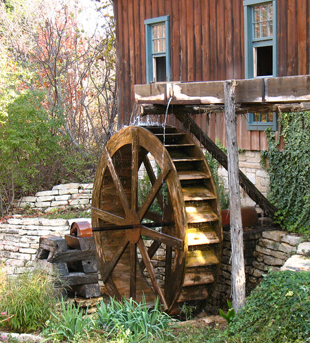 homestead gristmill wheel