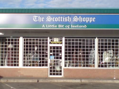 if it's not Scottish (it might be Irish)