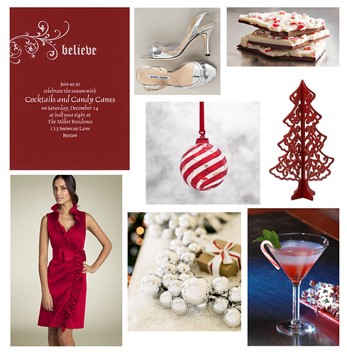Candy Cane Cocktail Party