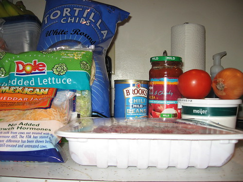 Fiesta Taco Bake Ingredients