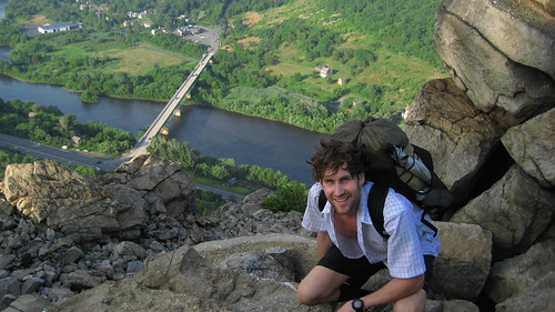 Climb out of Lehigh Gap