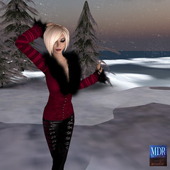 Gothicatz Stage 4 (Arcadia Nightfire) Tags: winter fashion avatar secondlife mdr tesla theabyss mdrstudio slfashionartphotography gothicatz arcadianightfire glamourazzi