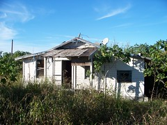old beat up 1934 Bean City house (mainmanwalkin) Tags: abandoned florida ghosttown palmbeachcounty lakeokeechobee beancity highway27 us27 1928hurricane ushighway27 hurricaneof1928 claudepeppermemorialhighway