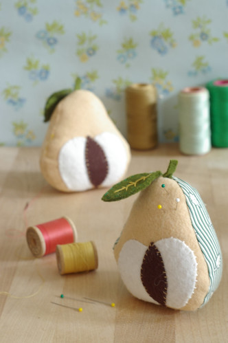 pear pincushion / kayte terry