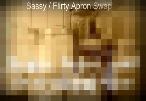 Sassy Flirty Apron Swap Hint