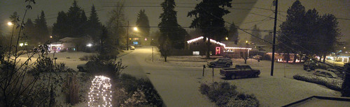 Snow Storm in Edmonds
