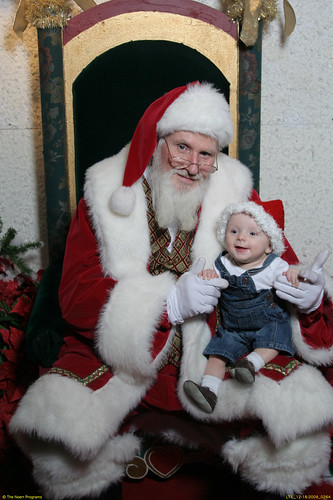 Dean's First Visit  With Santa