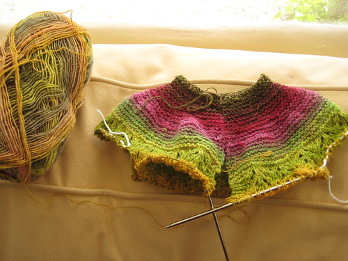 Noro Sock Baby Sweater