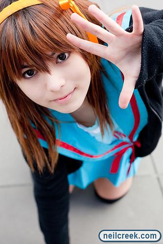 Mii as Haruhi